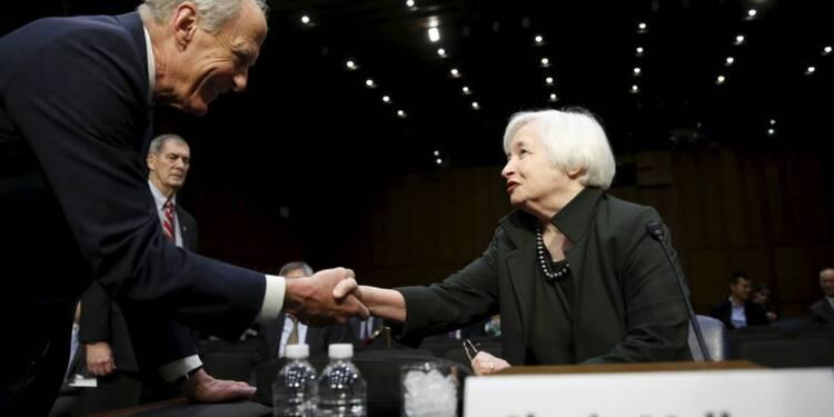 Janet Yellen affiche son optimisme sur l'économie américaine