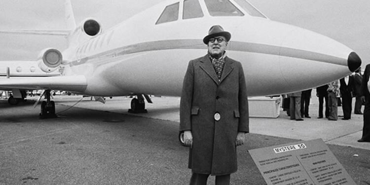 Marcel Dassault (1892-1986) : dès 1965, son jet d'affaires a changé la vie des P-DG