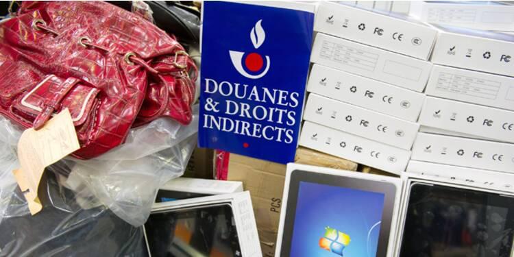 Drogues, taxes, contrefaçons… l'année débridée de la douane en chiffres