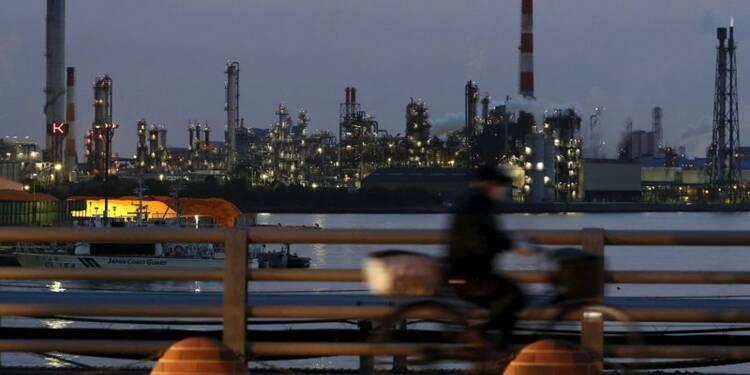 Net recul de la production industrielle japonaise