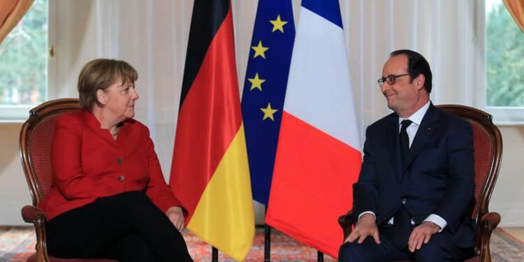 """Hollande et Merkel minimisent l'impact du """"non"""" néerlandais"""
