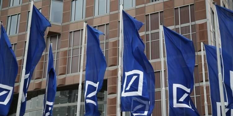 Deutsche Bank inscrit une charge pour fraude