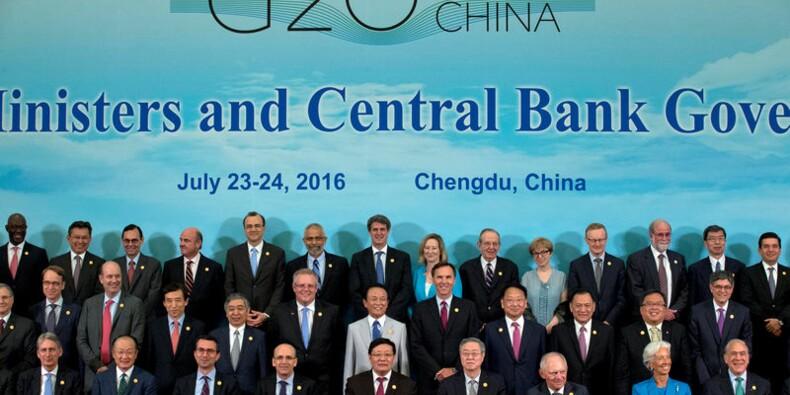 Le G20 s'engage à soutenir la croissance après le Brexit