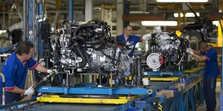 L'activité manufacturière progresse légèrement en France