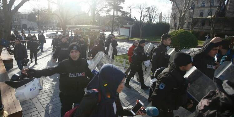 Dix morts dont neuf Allemands dans un attentat à Istanbul