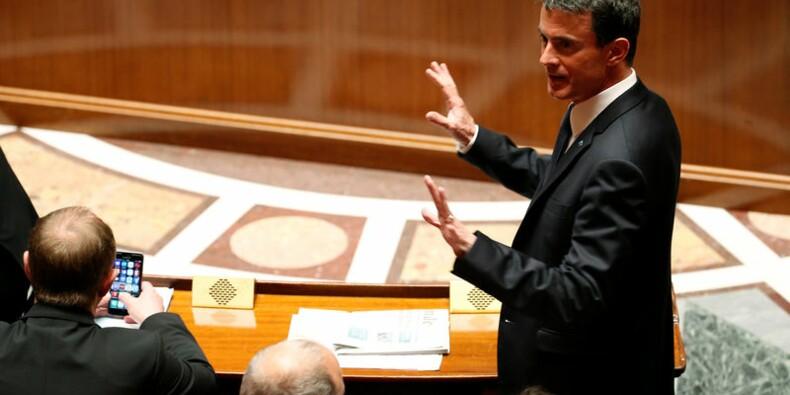 Valls ne demande pas de sanction contre les frondeurs du PS