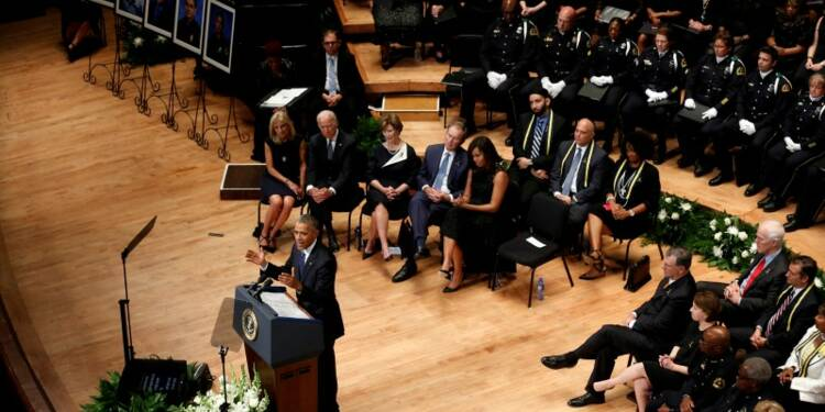 Après Dallas, Obama appelle les Américains à la réconciliation