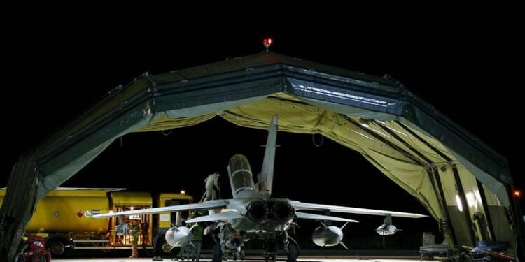 RPT-Des avions britanniques frappent l'EI en Syrie