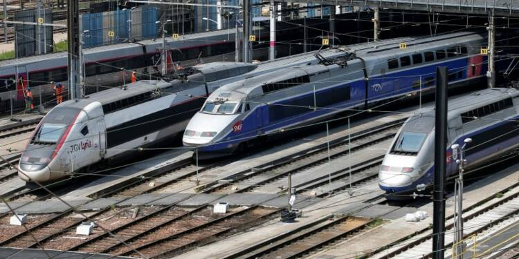 Légère amélioration du trafic lundi à la SNCF