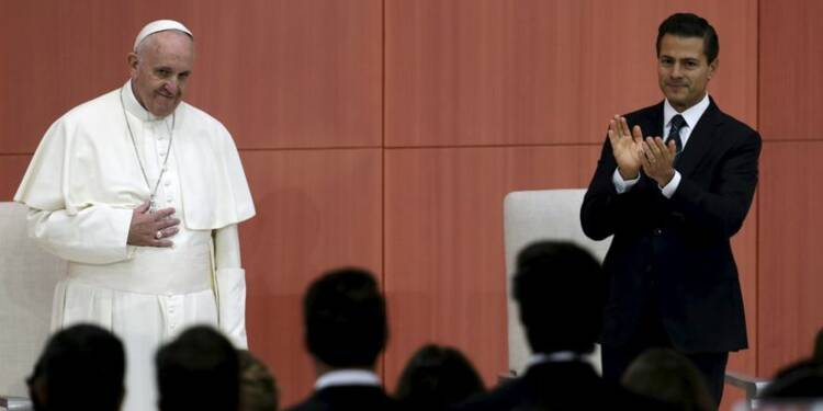Le pape invite le Mexique à lutter contre la corruption