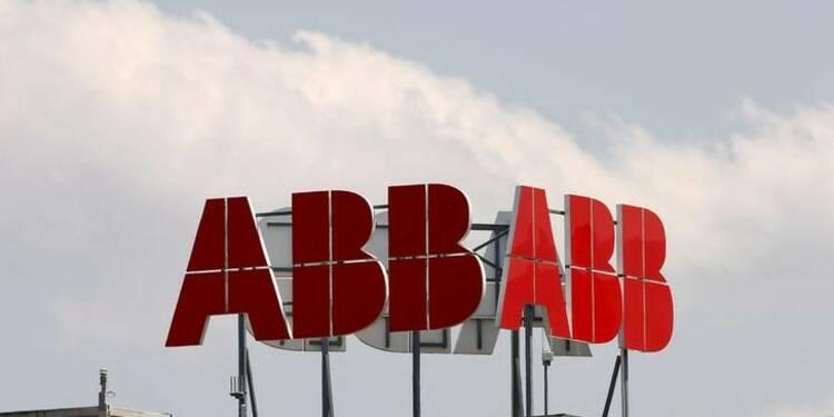 Le bénéfice net d'ABB au 1er trimestre supérieur aux attentes