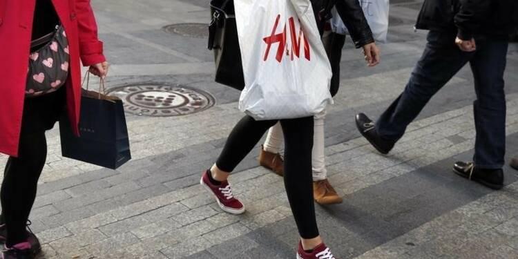 Les ventes de H&M en novembre moins élevées que prévu