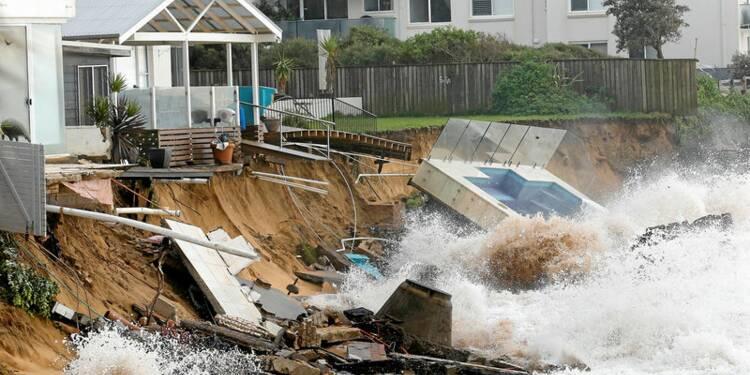 Violente tempête sur la côte est de l'Australie, trois morts