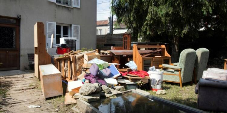 Inondations: la facture se précise entre 900 millions et 1,4 milliard