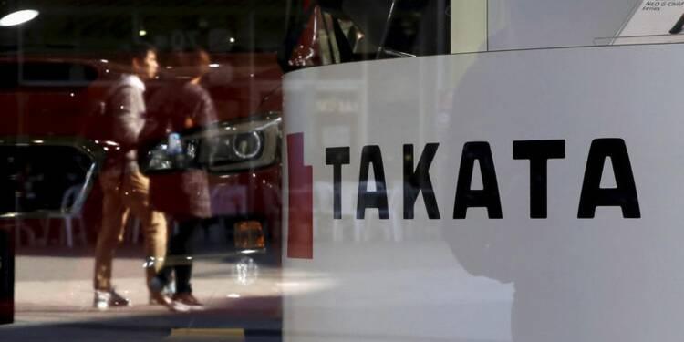 Takata avertit sur son résultat annuel en raison des rappels
