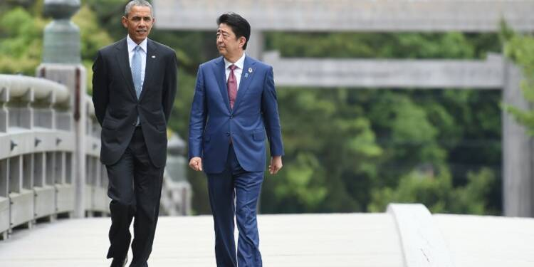 Sommet du G7: Barack Obama prépare sa visite historique à Hiroshima