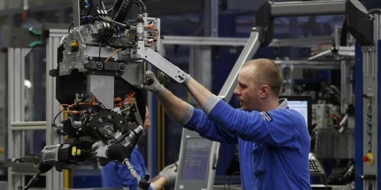 Nouveau recul de la production industrielle en zone euro