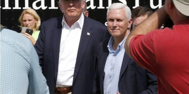 Donald Trump visite la Louisiane, victime des inondations