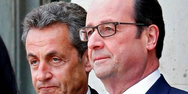 Hollande et Sarkozy en chute libre dans le baromètre Ipsos