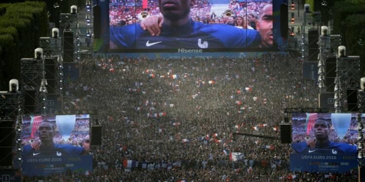 Euro-2016: record historique de 20,8 millions de télespectateurs pour Portugal-France
