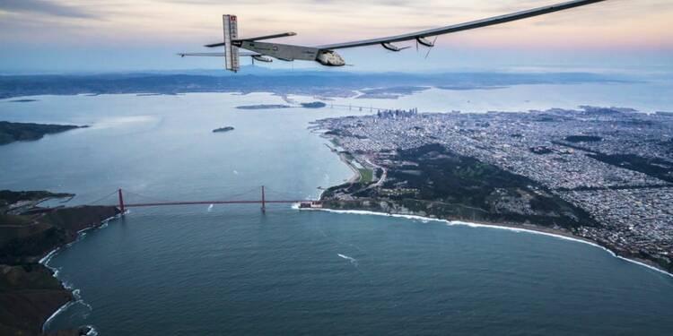 L'avion solaire Solar Impulse a réussi sa traversée du Pacifique