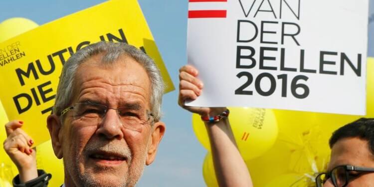 Alexander Van der Bellen remporte la présidentielle autrichienne