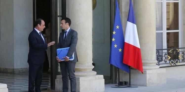 """Pour Macron, un Hollande """"très courageux"""" peut gagner en 2017"""