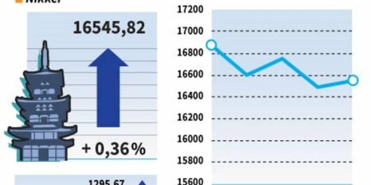 La Bourse de Tokyo finit en hausse