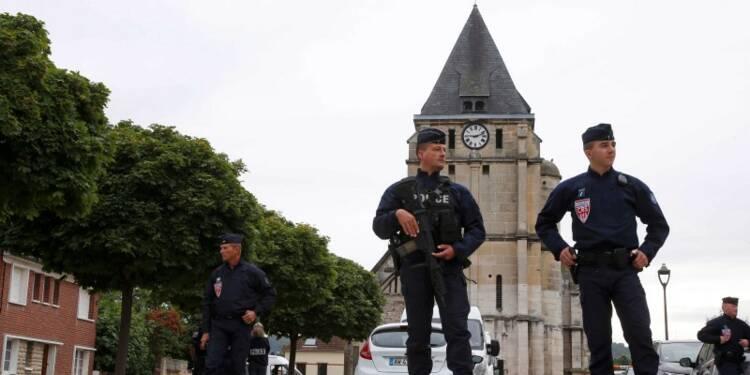 Le second assaillant de l'église en Normandie serait un Savoyard
