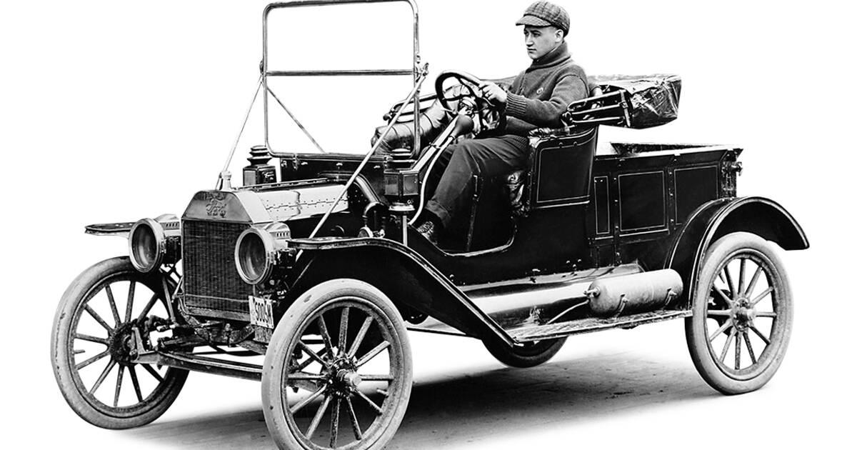 ford t 1908 les d buts piques de la production de. Black Bedroom Furniture Sets. Home Design Ideas