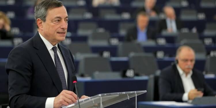 Mario Draghi invite les 28 à plus de cohésion pour la croissance