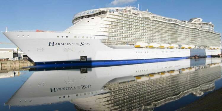 Embarquez à bord de l'Harmony of the seas le plus grand paquebot du monde !