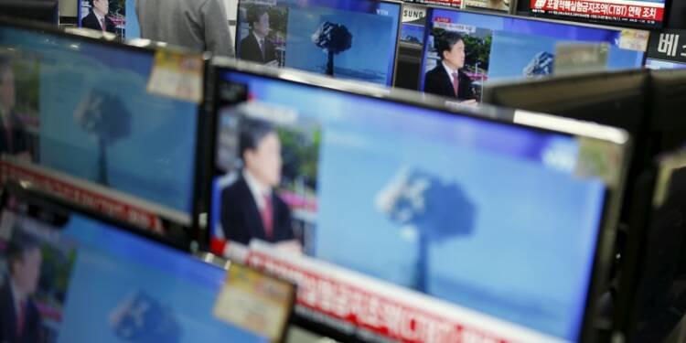 Pyongyang dit avoir procédé à son premier essai de bombe H