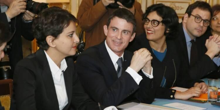 Valls donne des gages aux jeunes, satisfaits mais toujours opposés à la loi travail