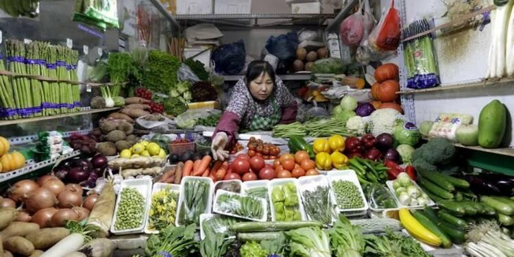 En Chine, les pressions déflationnistes persistent