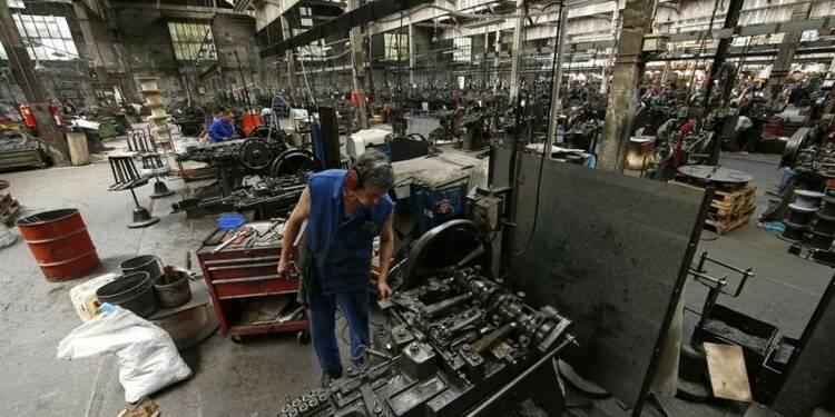 Stagnation de l'activité manufacturière en janvier