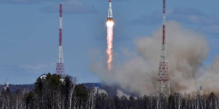 Première fusée lancée depuis le nouveau cosmodrome russe