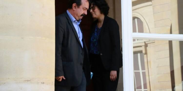 """Loi travail: """"pas de consensus"""" avec la CGT, indique Myriam El Khomri"""