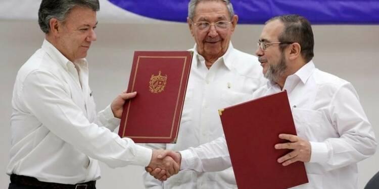 Accord sur le processus de démobilisation des Farc en Colombie
