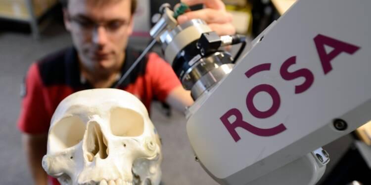Les robots médicaux de Medtech tombent dans les bras de son partenaire américain