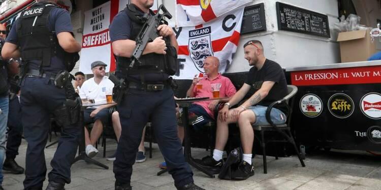 Heurts avec des supporters de foot anglais à Marseille