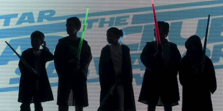 Les jouets Star Wars ont rapporté 641 millions d'euros aux USA