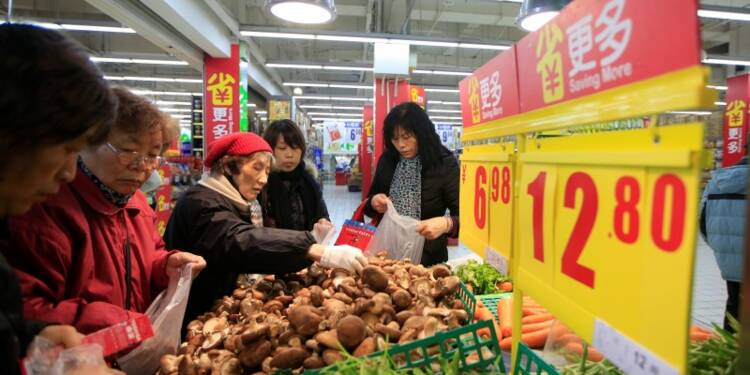 L'inflation légèrement inférieure aux attentes en Chine en avril