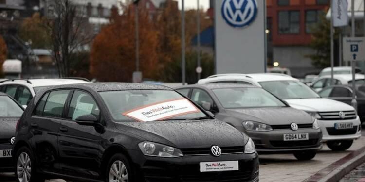 Chute des ventes de Volkswagen sur le marché britannique