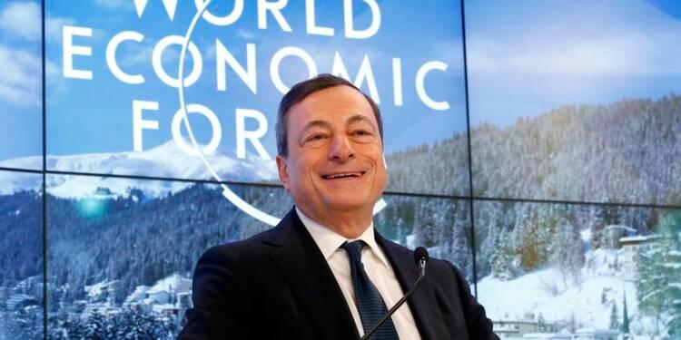 La BCE déterminée et disposée à agir, redit Mario Draghi
