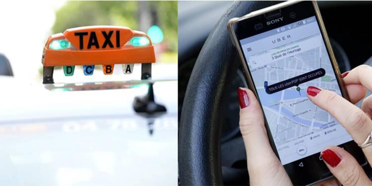 Uber et les taxis : je t'aime, moi non plus