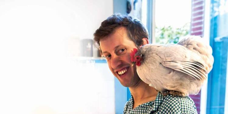 Ghislain Journé : Avec sa start up Farmili, il vend des ... poules