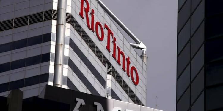 Rio Tinto, en perte en 2015, renonce à relever le dividende