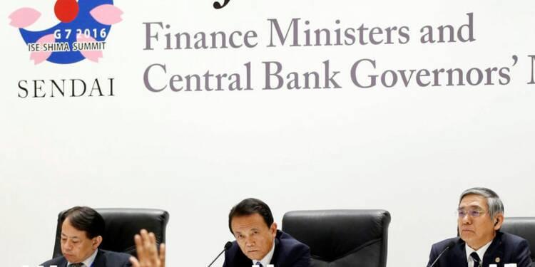 Au G7, le cours du yen a occulté les autres dossiers