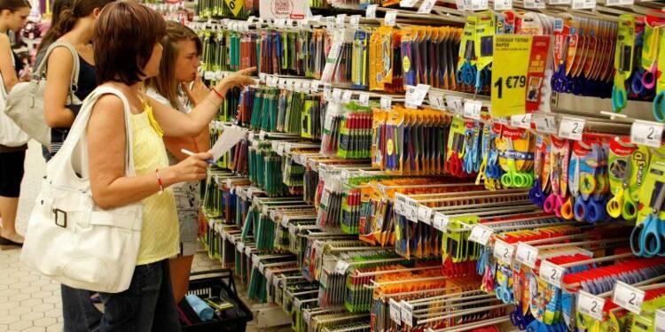 Recul de 0,4% des prix à la consommation en France en juillet